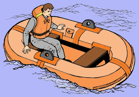 KEEP A LIFE RAFT TO SAVE YOU FROM A POOL PLAYING FUNK