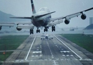 plane-landing crooked