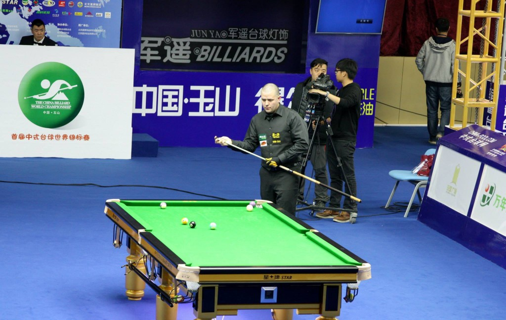 china billiard world championship 2015 8 ball simon pickering tv table