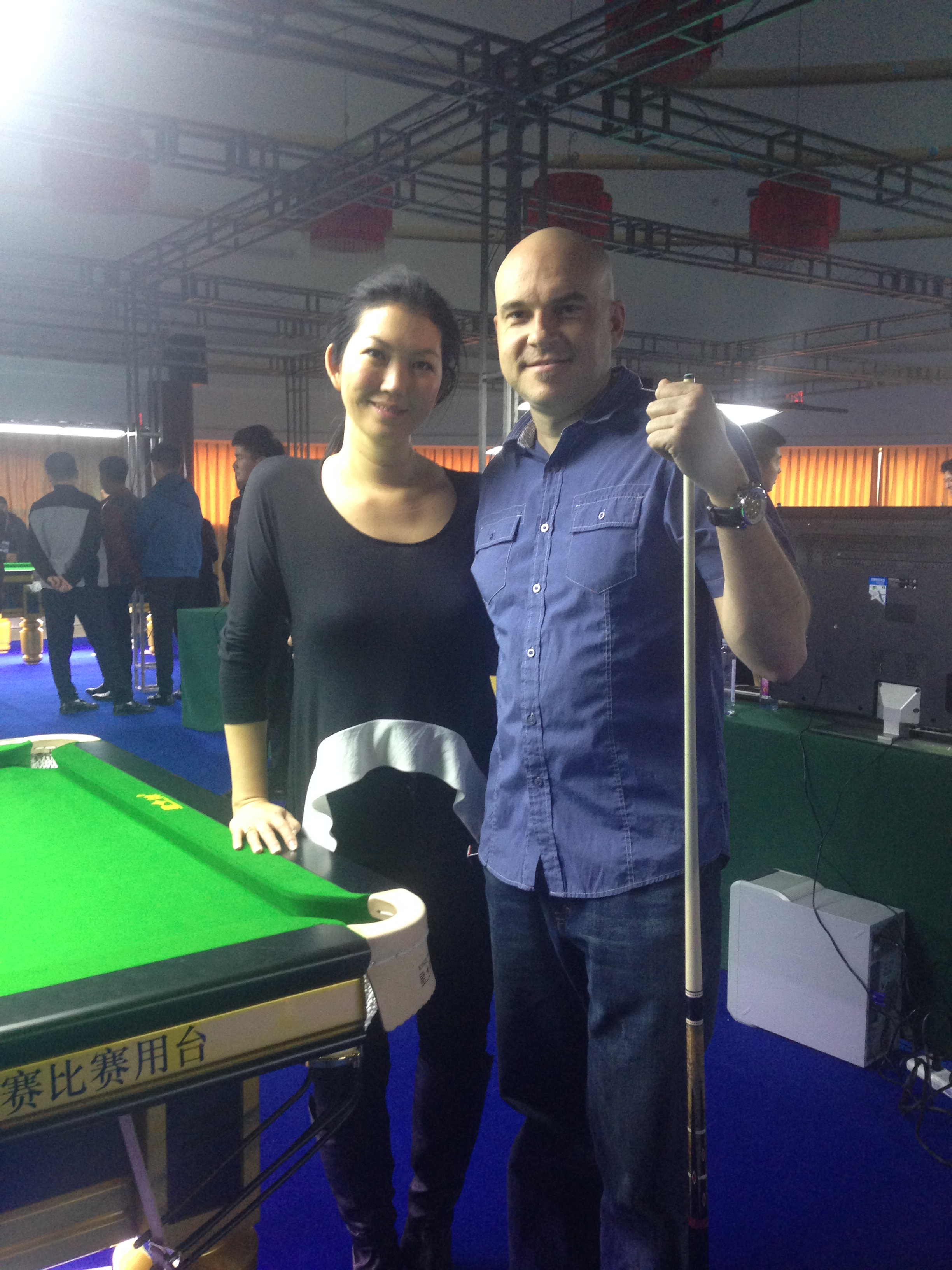 china billiard world championship 2015 black widow jeanatte lee and max eberle