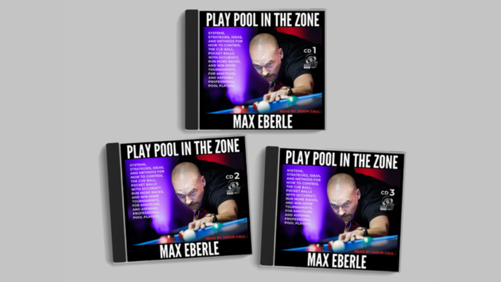 "New Audio Book ""Play Pool In The Zone"" Now Available!"